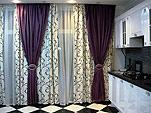 Дизайн занавесок и штор для кухни